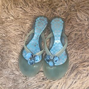Coach Madlena Jelly Size 8 Hard to Find Blue